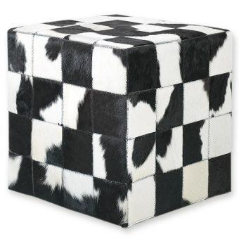 ΣΚΑΜΠΟ COW SKIN (10) 40x40x40 cm NAT. BLACK-WHITE, ΣΚΑΜΠΟ COW SKIN (10) 40x40x40 cm NAT. BLACK-WHITE, ΣΚΑΜΠΟ COW SKIN (10) 40x40x40 cm NAT. BLACK-WHITE