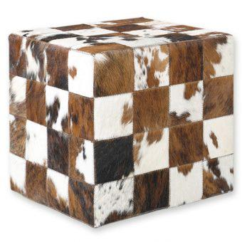 ΣΚΑΜΠΟ COW SKIN (10) 40x40x40 cm NAT. BROWN-WHITE, ΣΚΑΜΠΟ COW SKIN (10) 40x40x40 cm NAT. BROWN-WHITE, ΣΚΑΜΠΟ COW SKIN (10) 40x40x40 cm NAT. BROWN-WHITE